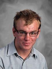 Tyler Kenee, Spring Grove High School Rotary student