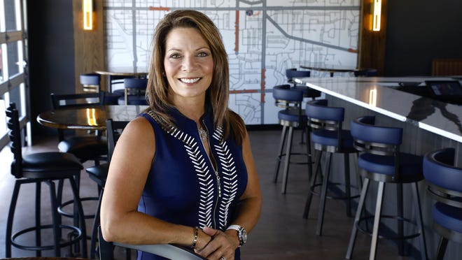 Cathy Dzik, owner of 8th Ward Pub, 3905 Broadway in Rockford, stands inside the pub on  Friday, July 24, 2020. It will open Aug. 6.