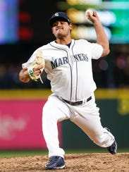 James Pazos is a key reliever for the Mariners.