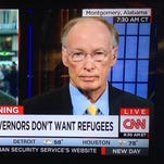 """Gov. Robert Bentley claimed """"major threats"""" from refugee organizations during an interview with CNN New Day host Chris Cuomo on Nov. 17, 2015. Bentley's office did not have any immediate response to today's plea signed by 116 moderate leaders of Christian, Jewish, Muslim and other groups from around the state."""