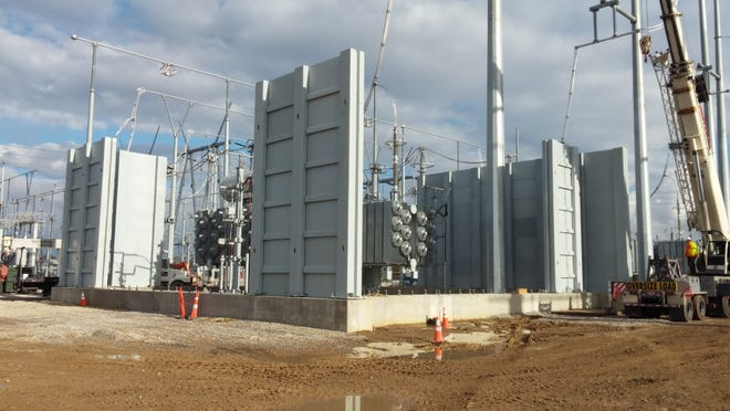 High Impact Technology LLC was responsible for the blast-proof concrete that went up around an electrical substation in the Midwest.