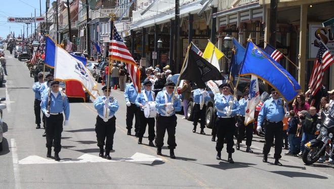 Virginia City will host a Memorial Day Parade Saturday.