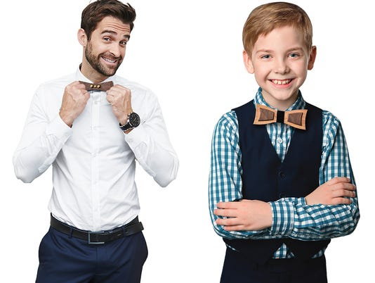 NNO bow tie - guy & Kid