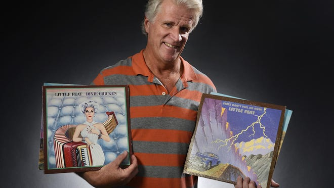 Times columnist Dave DeLand with a few favorite 1970s albums from the band Little Feat, his choice for the most underrated musical group.