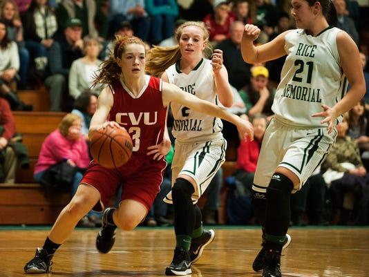 CVU vs. Rice Girls Basketball 12/19/14