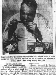 This appeared in the April 7, 1947 Eagle-Gazette.