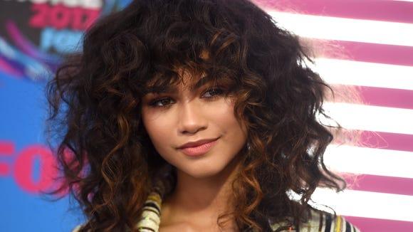 Style queen Zendaya at the Teen Choice Awards.