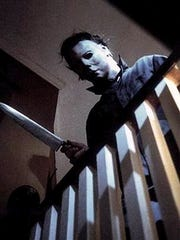 "Michael Myers from the original 1978 film ""Halloween."""
