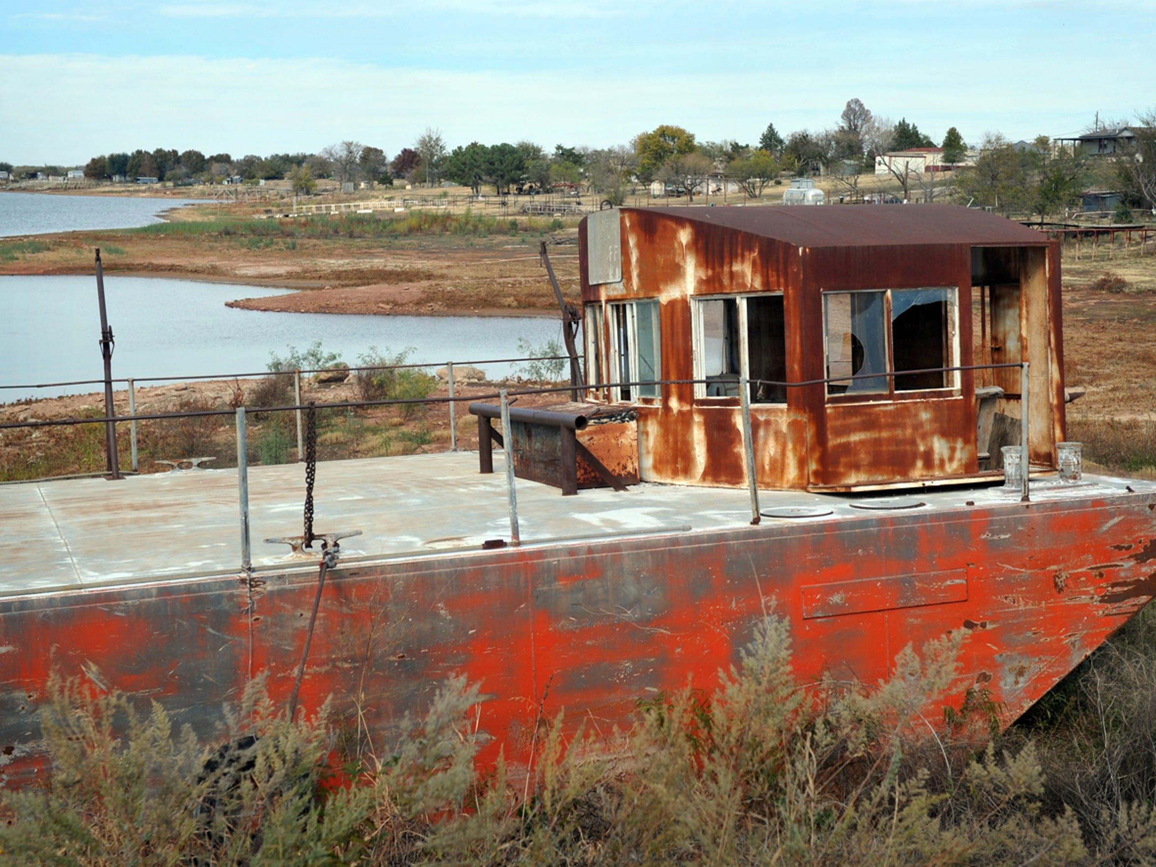 As the water levels of Lake Kickapoo and Lake Arrowhead