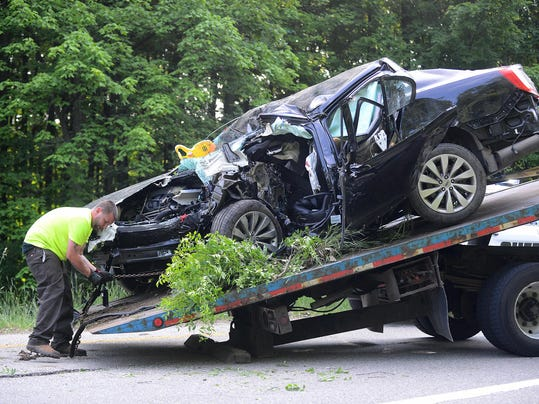 Car Accident In Chesterfield Mi