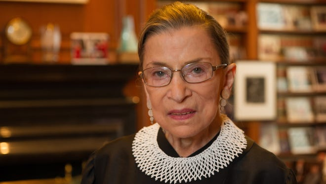 Supreme Court Associate Justice Ruth Bader Ginsburg sat for a portrait in July as she approached her 20-year anniversary on the court.