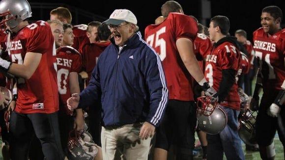 Somers coach Tony DeMatteo.