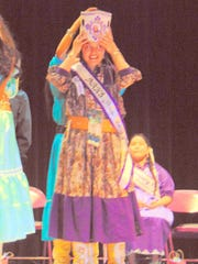 Geraldine Rice is crowned incoming high school princess.