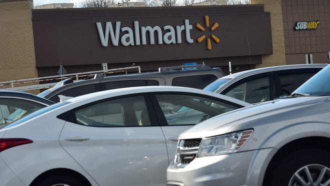 A new Walmart -- like the one shown here Friday, Jan. 29, 2016, in Guilford Township -- is still planned in Hamilton Township.