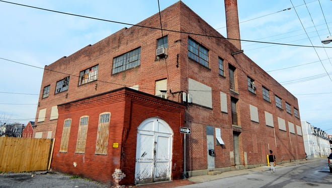 A group of investors is looking to turn this warehouse in the 200 block of East Poplar Street in York City into a medical marijuana facility. Tuesday, Feb. 7, 2017. John A. Pavoncello photo