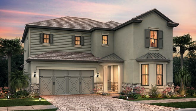 Pulte's Eastfield design in Avalon Park at Ave Maria.