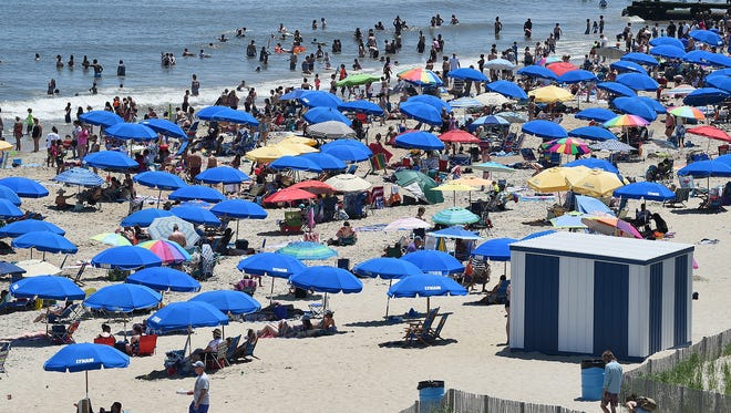Crowds came to Rehoboth Beach on Saturday as Memorial Day weekend unofficially kicked off the 2018 summer season with sunny, warm weather.