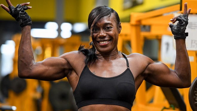 Jackson Police Officer Rochell Staten earned her IFBB PRO card June 29, 2018. Staten placed first in the 2018 NPC Universe Championships in the Women's Figure Masters Over 50 Class A category.