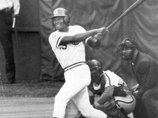 October 13, 1976: George Foster's home run swing