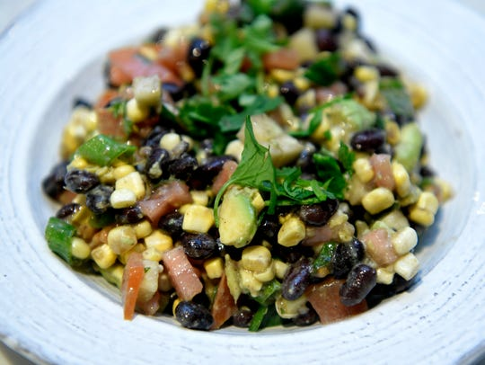 Madison Melnyk makes cowboy caviar . In late May, Madison