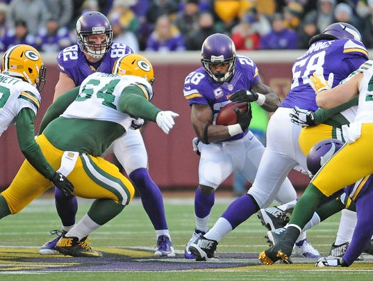 Mike Pennel, Adrian Peterson