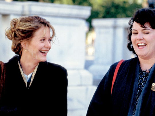 Meg Ryan and Rosie O'Donnell played buddies and colleagues