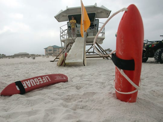 Pensacola Beach Lifeguard tryouts will take place Saturday, May 13 at the University of West Florida Aquatic Center.