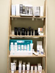 An assortment of high grade sunscreen and skin care
