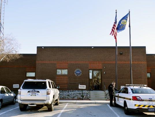 state police barracks