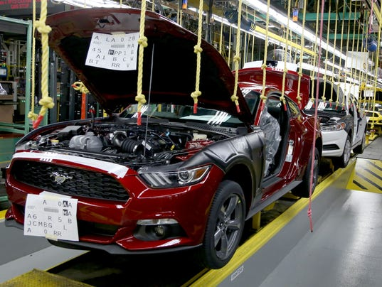 Ford assembly plant in flat rock evacuated after fire for Ford motor company wayne mi