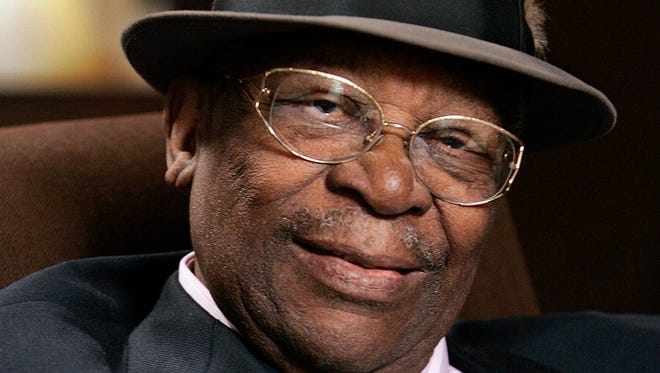 Blues legend B.B. King died late Thursday. He was 89.