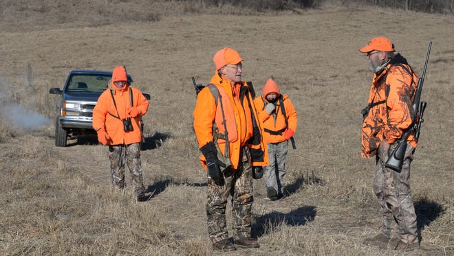 Deer hunting questions on group bagging, crossbows and chronic wasting disease helped boost attendance at April 9's statewide fish and wildlife hearings.