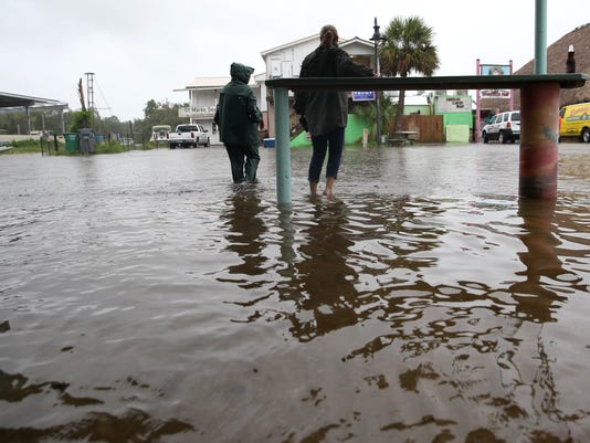 USA TODAY: TROPICAL STORM HERMINE USA FL