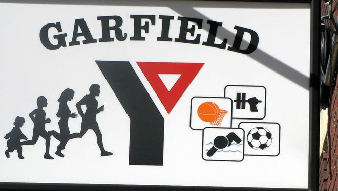 Title: GarfieldY  --  Garfield YMCA Sign  --  Located at 70 Outwater Lane.