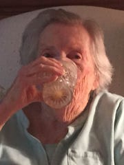 Columnist Jim Walsh toasts his mother, Julia, who's turning 100.