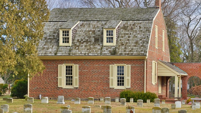 Delaware abolitionist John Hunn is buried near Camden Friends Meeting House, which was built in 1805 and is still used for worship today.
