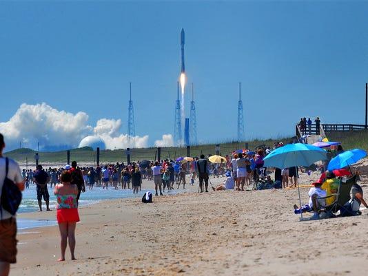 ATLAS V LAUNCH ABOARD THE X-37B SPACE PLANE