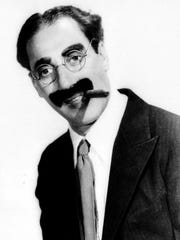 Comedian Groucho Marx is shown in this 1933 handout