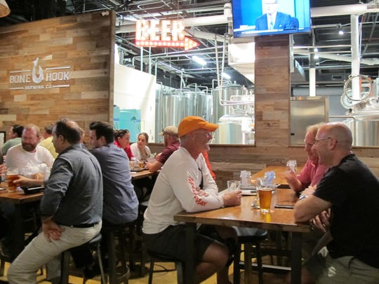 Bone Hook Brewing Co. makes more than 20 craft beers
