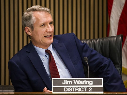 Phoenix Vice Mayor Jim Waring.