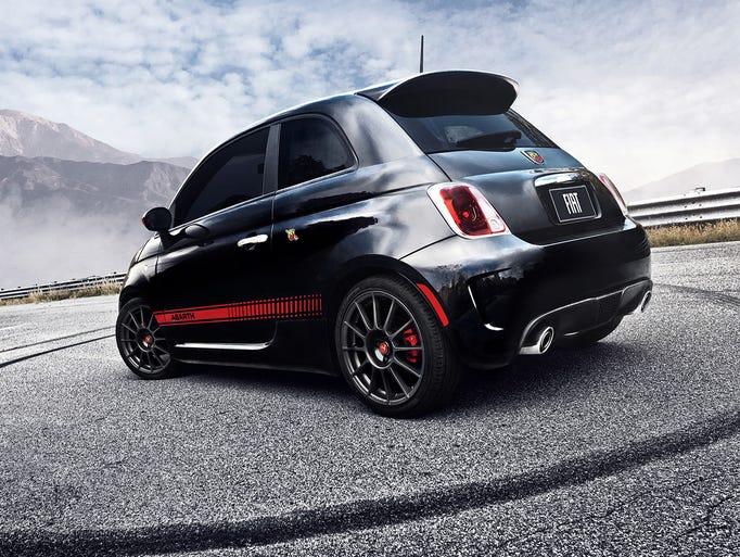 The Fiat 500 Abarth brought performance, aggressive
