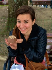 Jenna Intersimone at the Perugia Chocolate Festival
