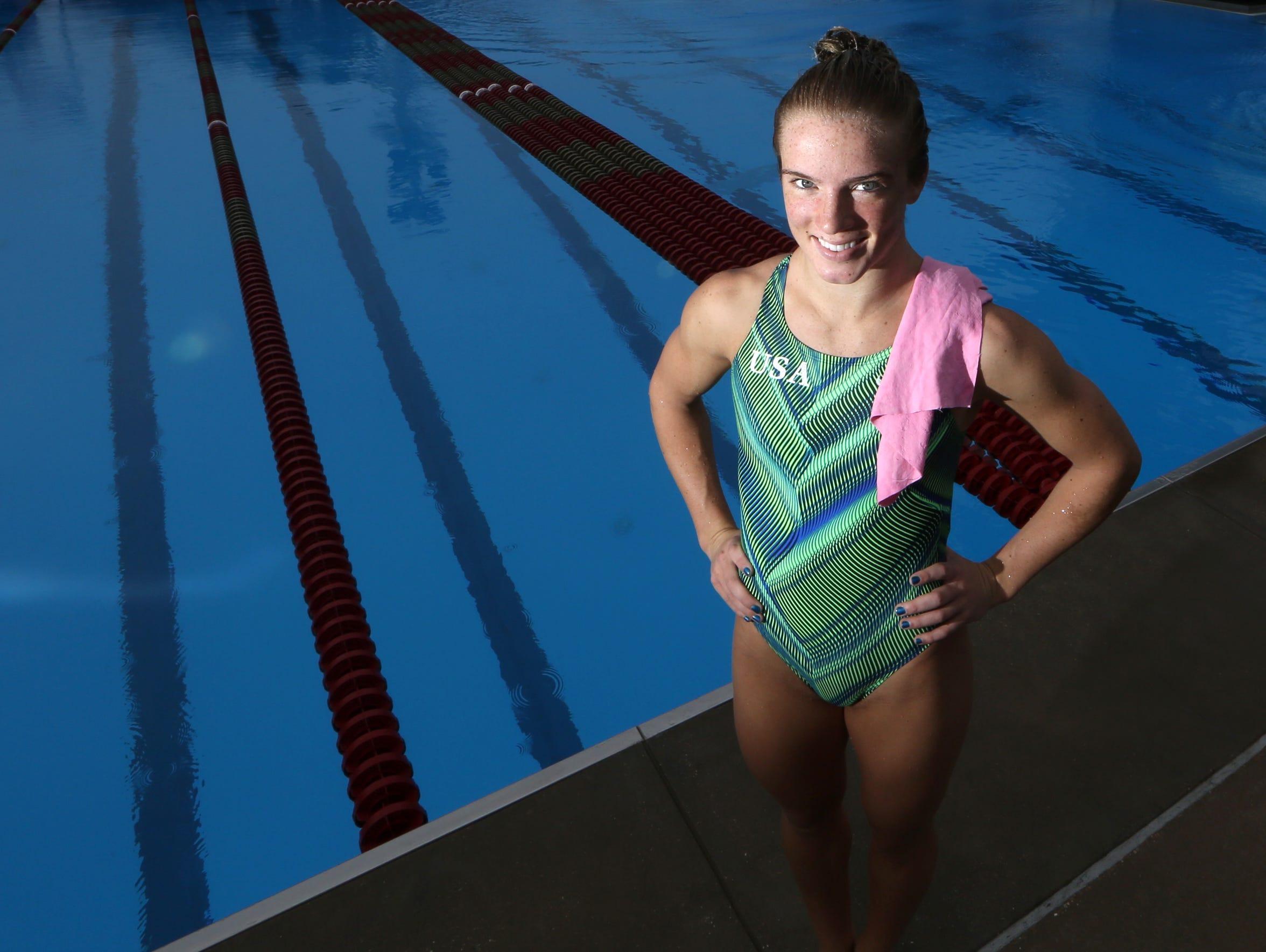 Former FSU diver Katrina Young has qualified to represent