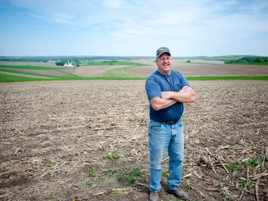 Jeff Pfeuti is a member of a watershed group that has received state funding to do better environmental practices.
