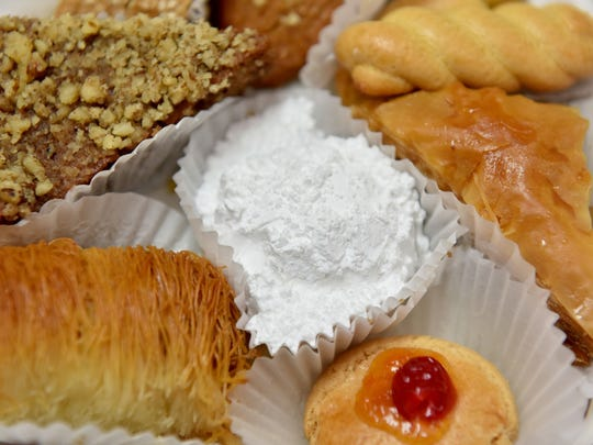 Greek pastries are among the attractions at Greek Fest.