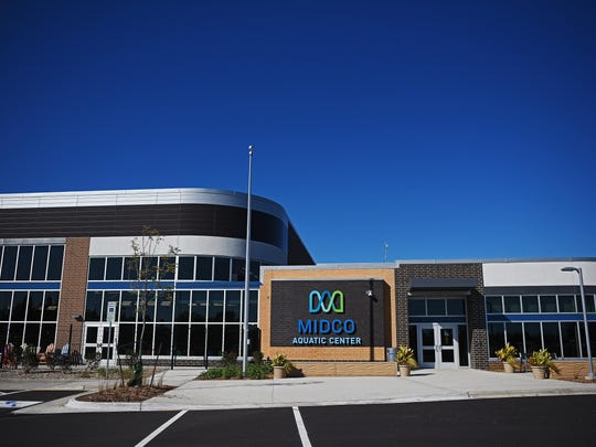 The Midco Aquatic Center Wednesday, Oct. 5, 2016, in Sioux Falls. There will be a ribbon cutting and public open house for the aquatic center on Wednesday, Oct. 12, and the grand opening will be on Thursday, Oct. 13, at 5:30 a.m.