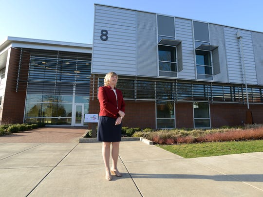 Chemeketa Community College President Julie Huckestein is photographed on Wednesday, March 4, 2015, at the Salem campus. Huckestein served as interim president for several months. In February, the Chemeketa Board of Education voted unanimously to appoint Huckestein president of CCC.
