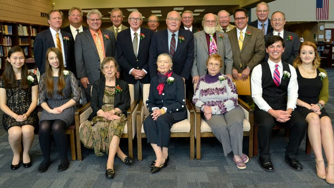 The 2014 Royal Oak High School Hall of Fame consisted of 15 alumni and five educators.
