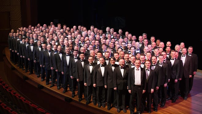 The New York City Gay Men's Chorus will perform at 2 p.m. Sunday, March 13, at the Crystal Ball Room at the Berkeley Oceanfront Hotel.