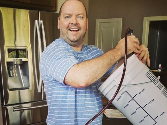 Phil Glenn, along with his brothers Matt and Jerry Glenn, are getting set to turn a hobby into a business. The three will open 1717 Brewing Company in October near downtown Des Moines.